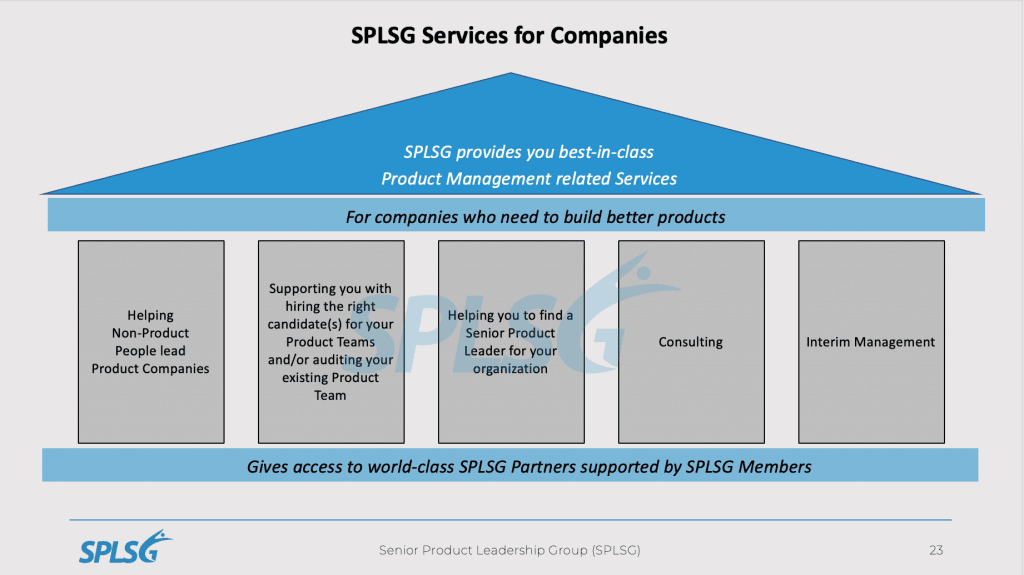 SPLSG services for companies